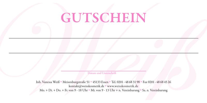 Kosmetik Weiss Gutschein Seite 2